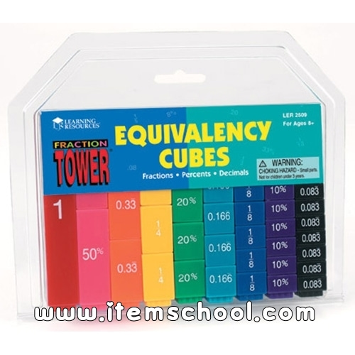 [EDU 2509] 분수막대 Fraction Tower Equivalency Cube