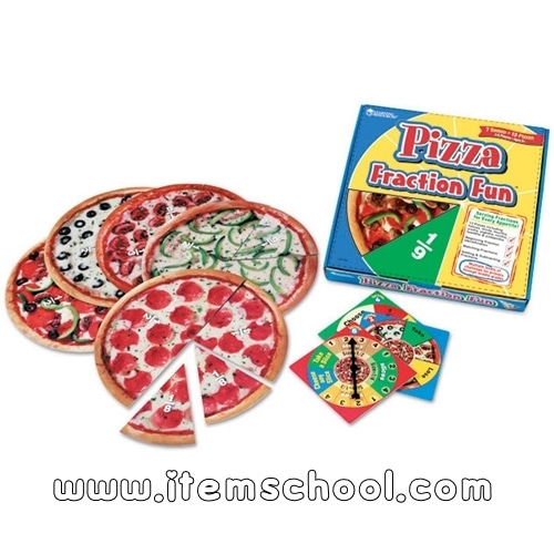 [EDU 5060] 피자 분수게임 Pizza Fraction Fun Game